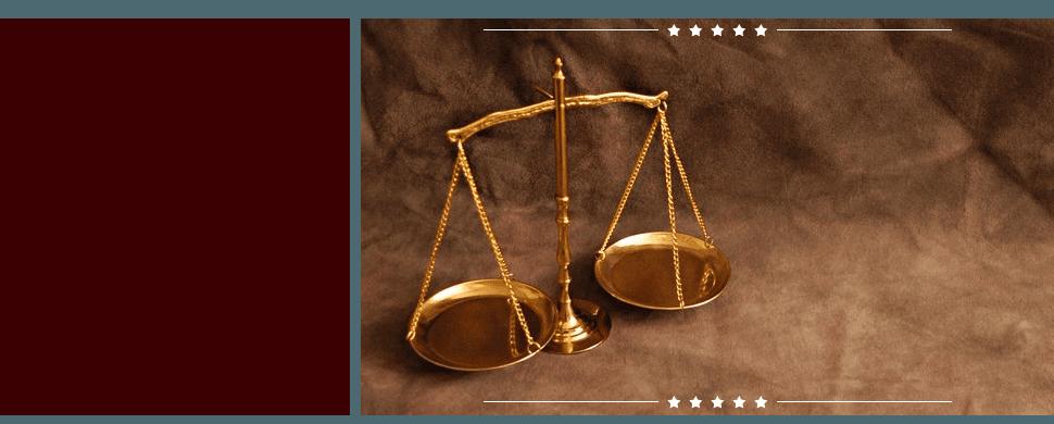 Gold justice balance