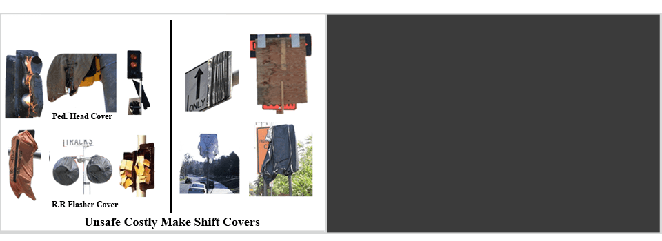 Traffic Sign and Signal Covers | Mission Viejo, CA | Pacific Innovation Enterprises | 949-215-7747