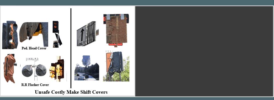 Traffic Signal Ped Head Cover