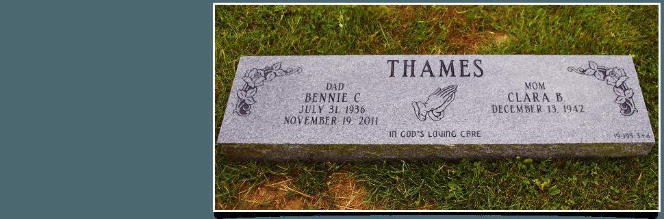 Granite memorial service
