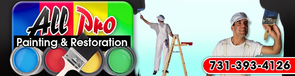 Home Improvements Milan TN All Pro Painting Restoration - All pro painting