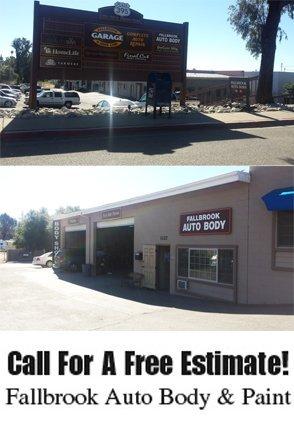 Auto Repair - Fallbrook, CA - Fallbrook Auto Body & Paint