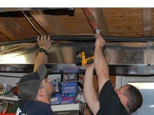 Low-cost ventilation service
