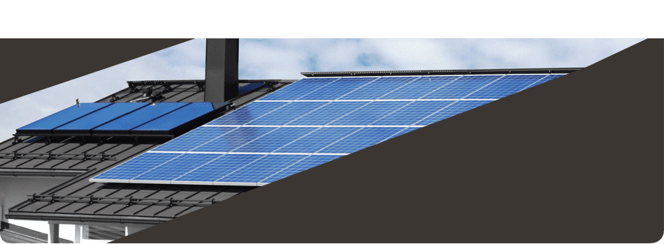 Solar panel roofing installation