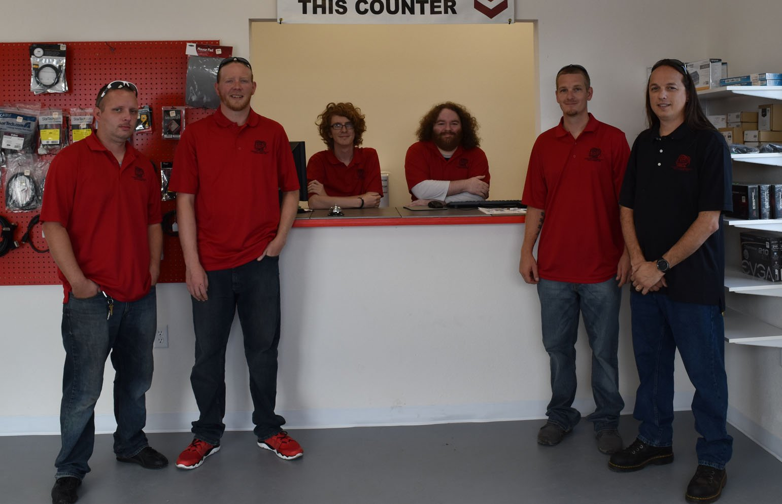 Hudson Technology Solutions staff members
