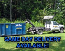 Dumpster - Lawrence and Mercer, PA - All-Pro Roll-Off Services Inc.