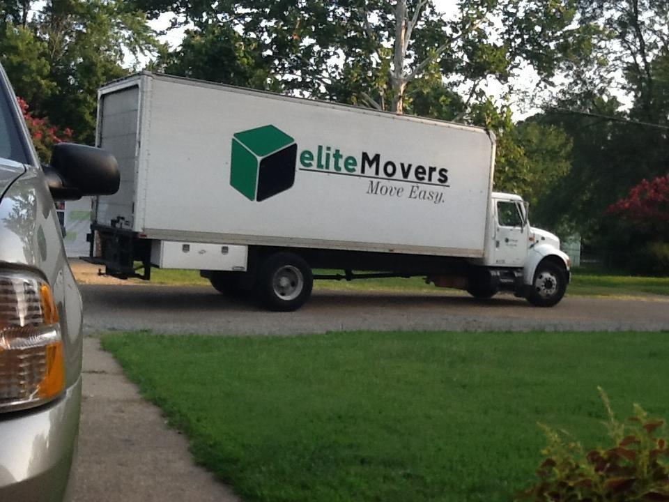 Elite Movers Inc Truck