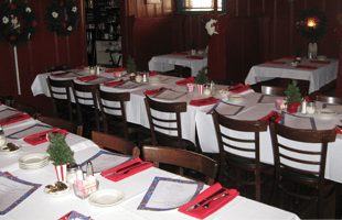 Colonial House Restaurant interior