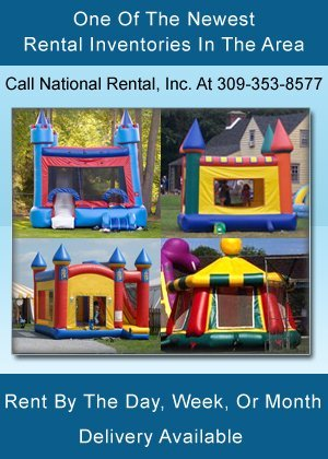 Party Rental - Pekin, IL  - National Rental, Inc.
