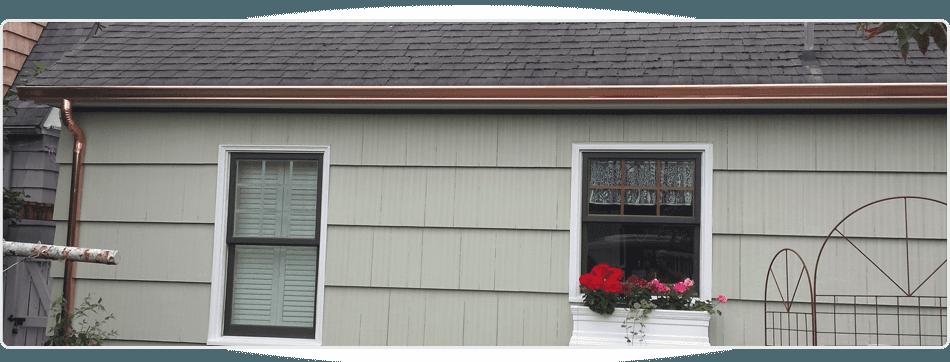 Copper Gutter | Port Orchard, WA | Puget Sound Gutters | 253-863-5003