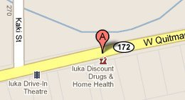 Iuka Discount Drugs - 1411 W Quitman St Iuka, MS 38852