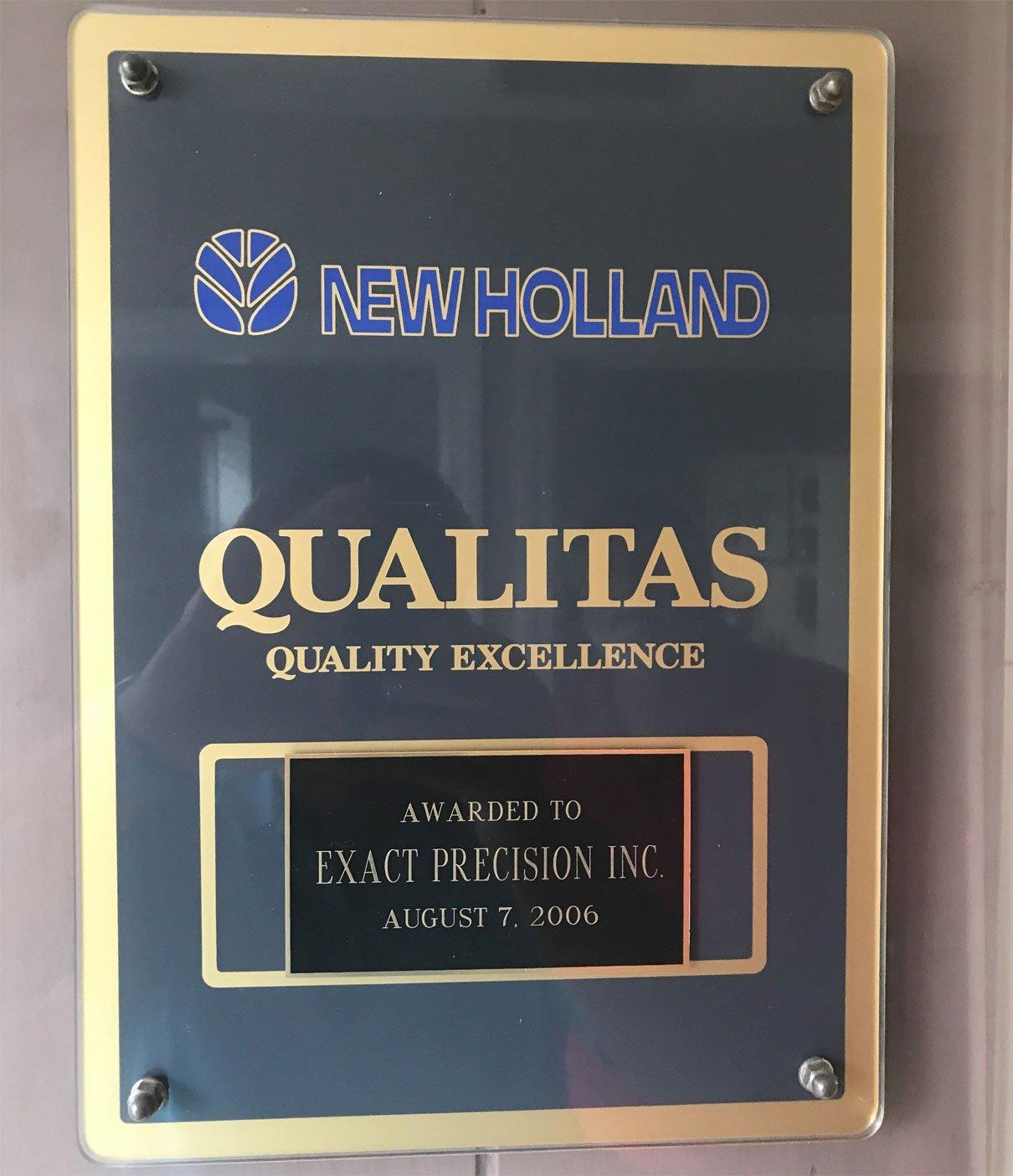 CNC Machine quality checking