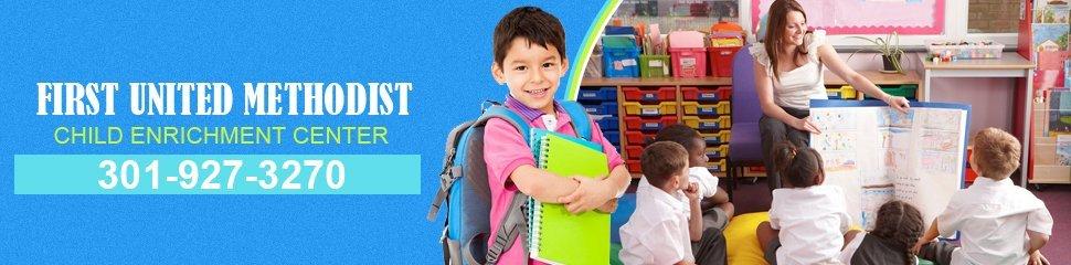 First United Methodist Child Enrichment Center  - Header