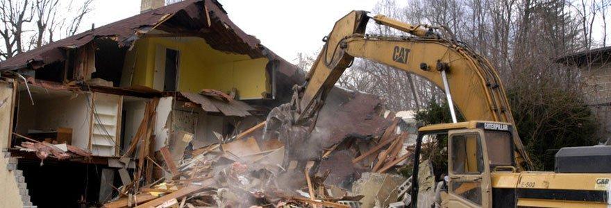 Demolition service