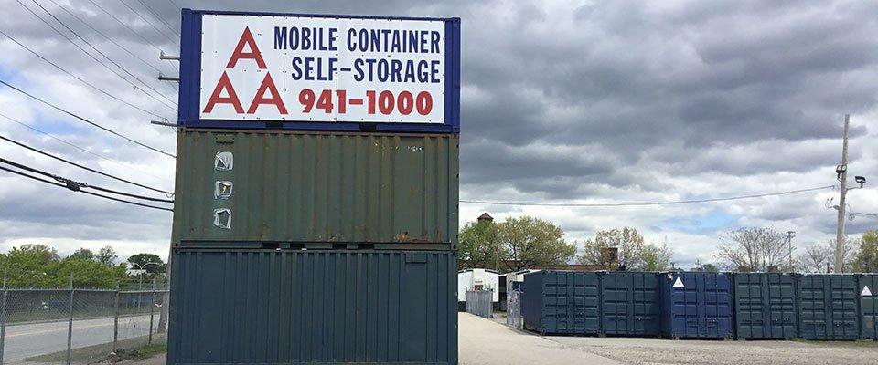 Self Storage Sign Close-up & Self Storage | Storage Facility | Units | Cranston RI