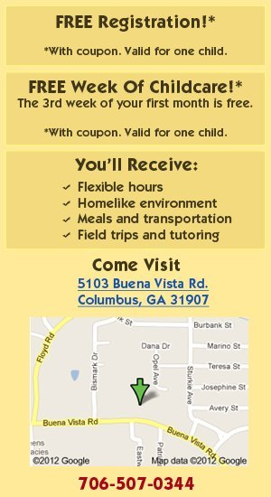 Childcare Services - Columbus, GA - Little Angels Child Development Center