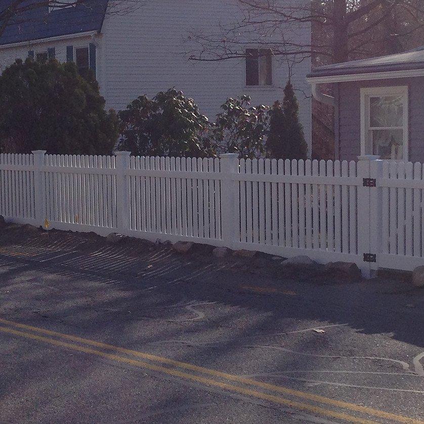 Vinyl Fences Pvc Fences North Billerica Ma
