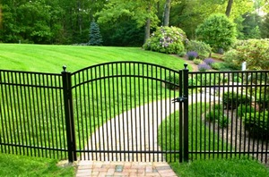 Aluminum Fence Custom Designed Fence North Billerica
