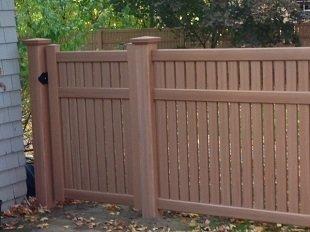 Certainteed fence Imperial Sierra Blend