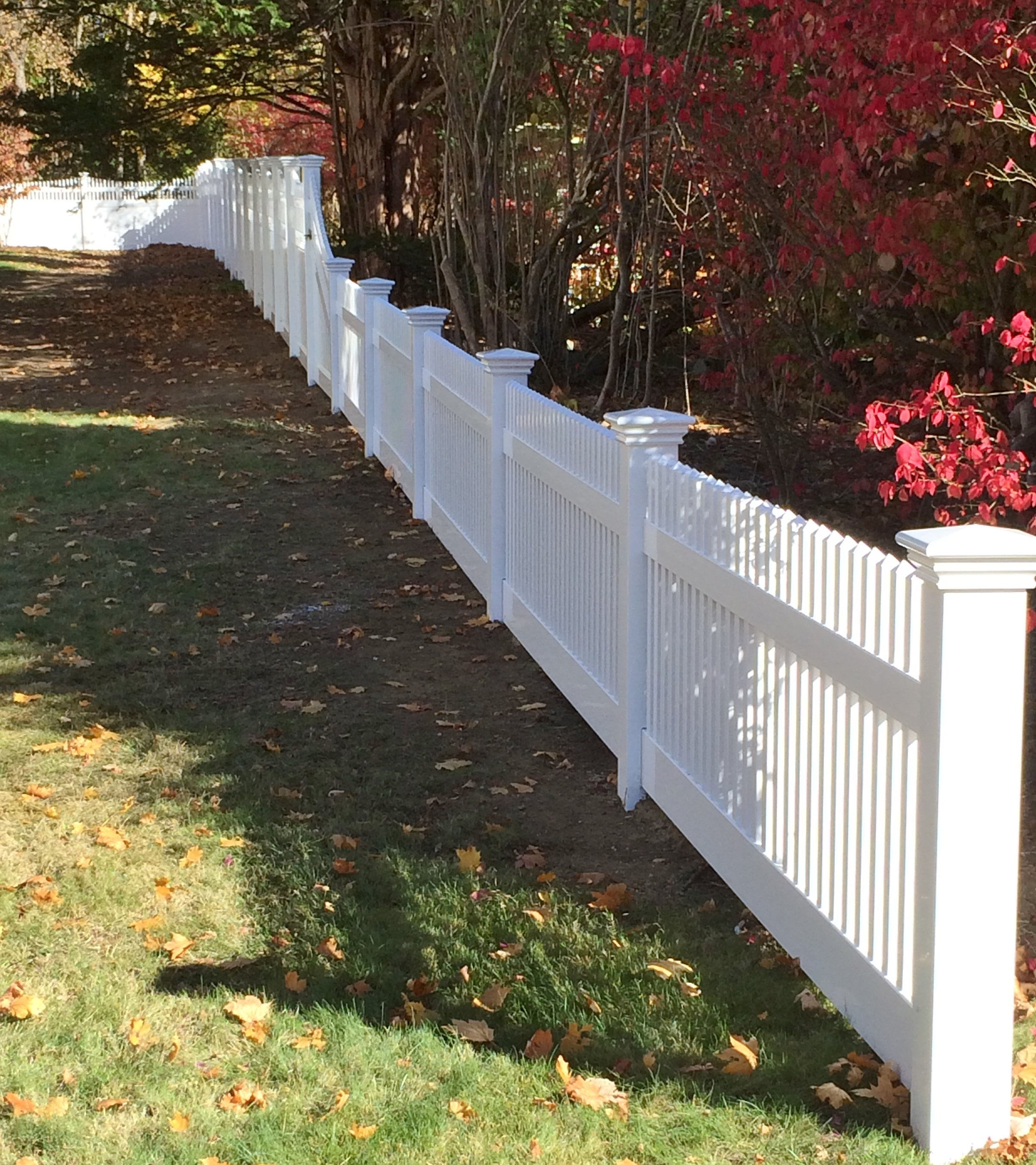 Somerset transitions into Lancaster fencing