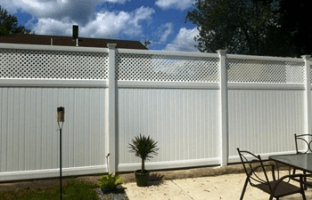 Bufftech Middlesex PVC Fence