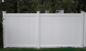 Bufftech Vinyl Fence