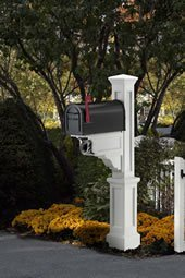Rd Fence Company Mailbox Posts North Billerica Ma