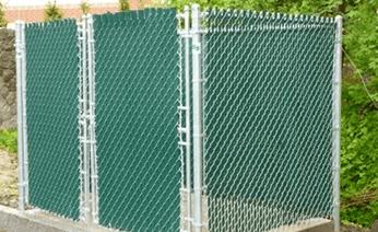 Dumpster Enclosure Fence