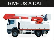 Electric Contractor - Grand Forks, ND - Apollo Electric Inc - People on a bucket truck - Give Us A Call!