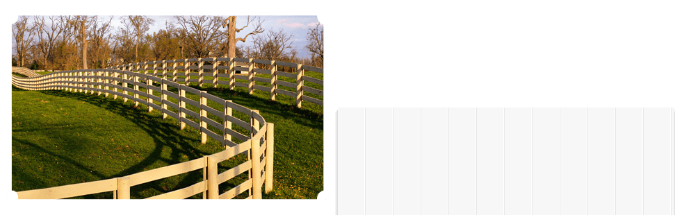 aligned brown wooden fences