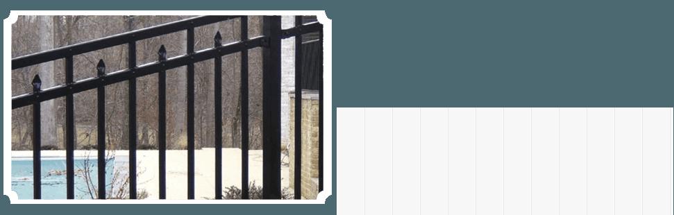 decoartive residential fencing