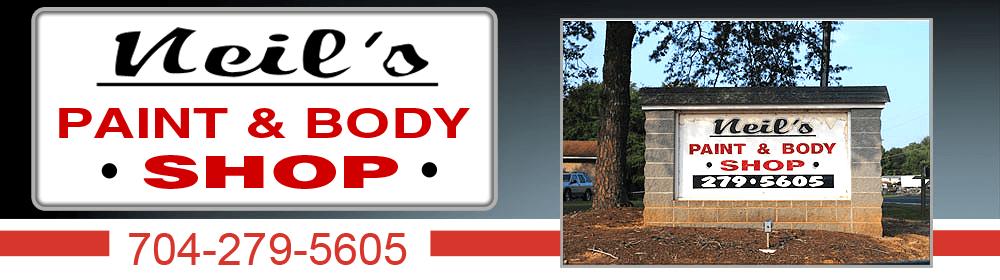 Auto Body Repair - Salisbury, NC - Neil's Paint & Body Shop