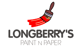 Longberry's Paint N Paper - Logo