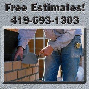 Chimney - Toledo, OH - Heiss Concrete Construction - patio pouring - Free Estimates! 419-693-1303