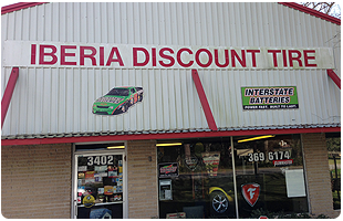 New Iberia, LA - Home - Iberia Discount Tire Center