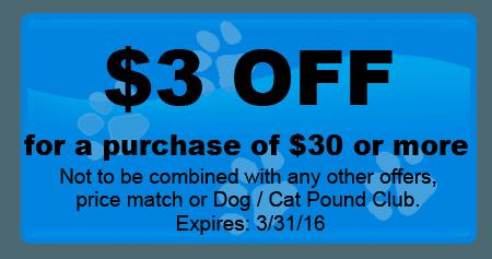 coupons | Warwick, NY | Hometowne Pet & Supply | 845-987-9444