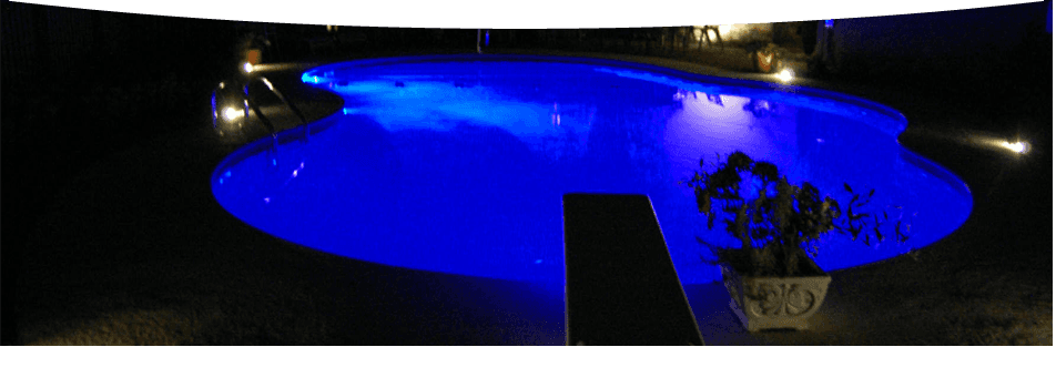 wide covered swimming pool
