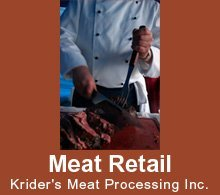Meat Processing - Columbia City, IN - Krider's Meat Processing Inc.