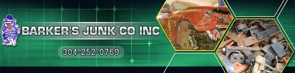 Junk Dealer - Mabscott,WV - Barker's Junk Co Inc