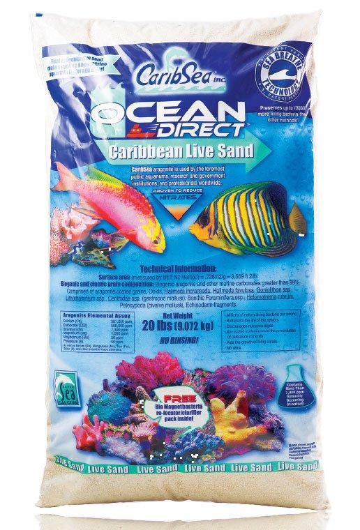 Carib sea live sand