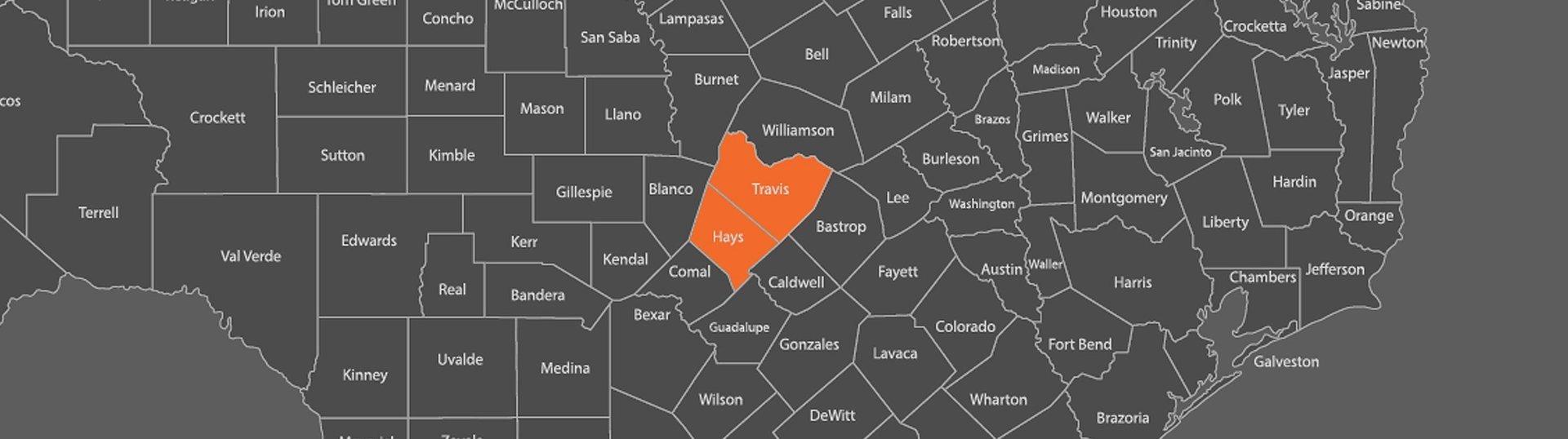 Ellen R Shaffer CPA, LLC Service Area Map