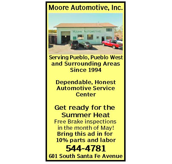 Coupon | Pueblo, CO | Moore Automotive | 7195444781