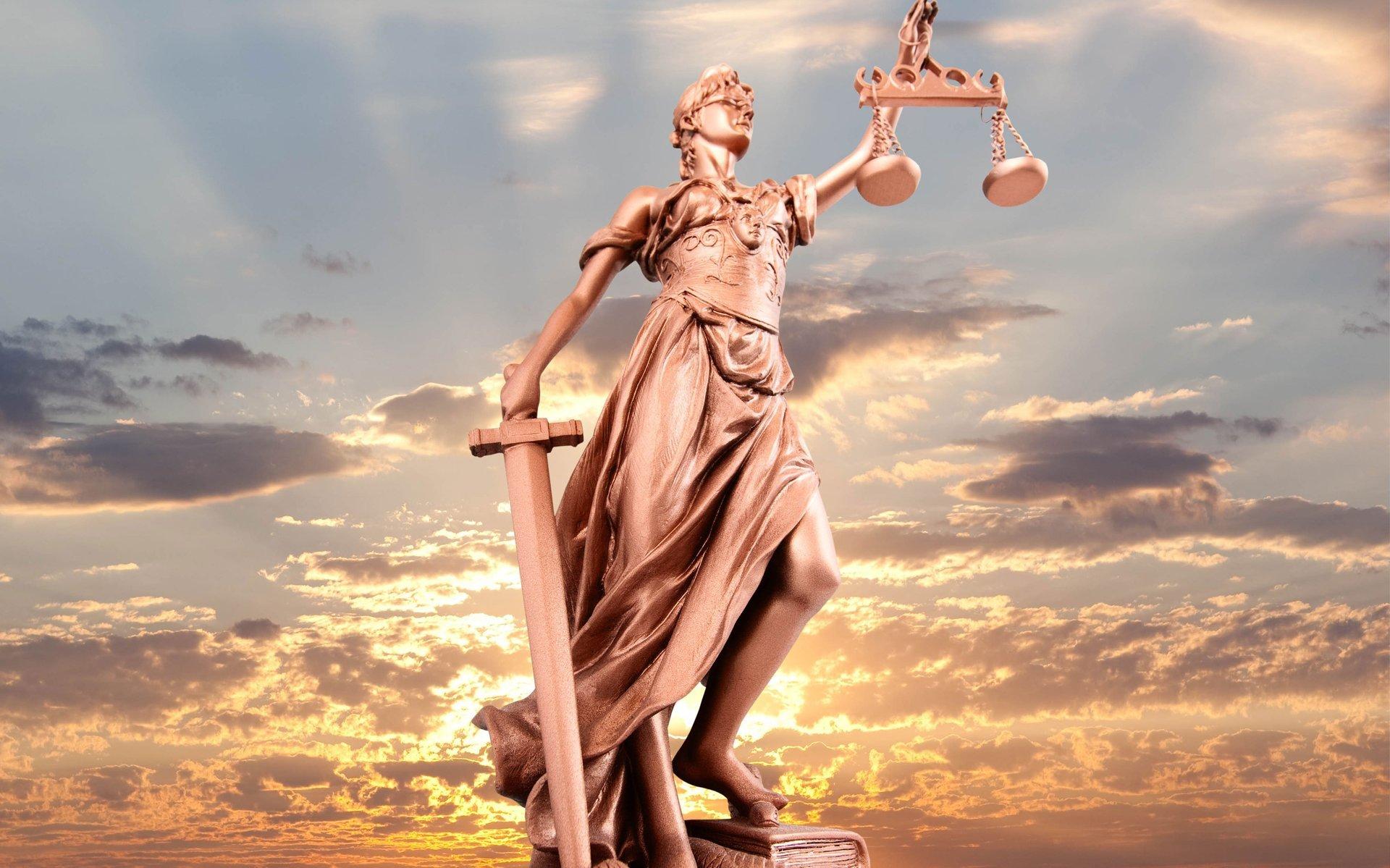 justice goddess sculpture