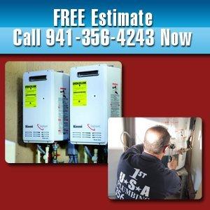 Water Heaters - Bradenton, FL - 1st USA Plumbing Inc