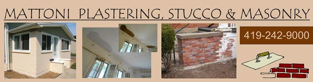 Mason Contractors - Toledo, OH - Mattoni Plastering, Stucco & Masonry