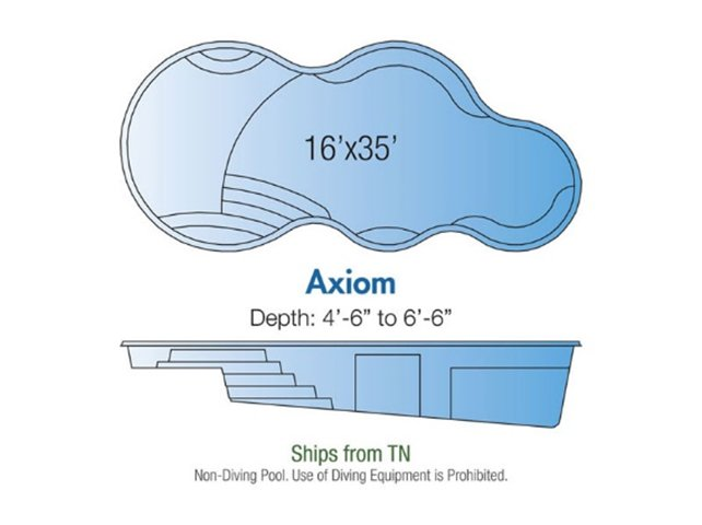 Axiom pool design layout