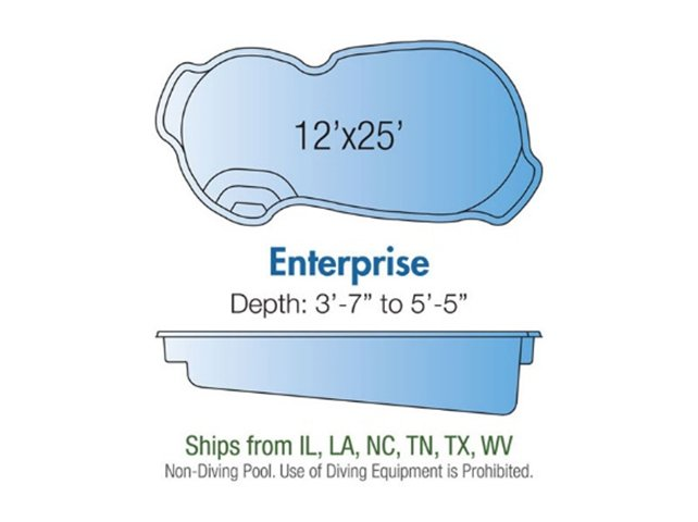 Enterprise pool design layout