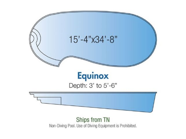 Equinox pool design layout