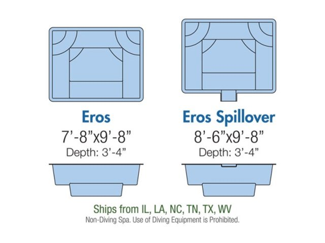 Eros spa layout