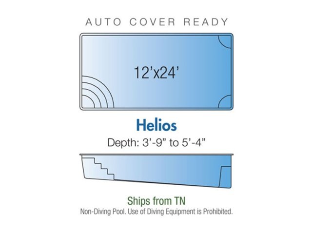 Helios pool design layout